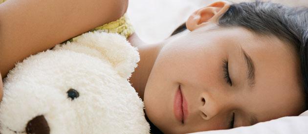 Le sommeil chez l'enfant plus grand